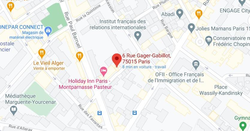 Situation carte Maps Daisy France